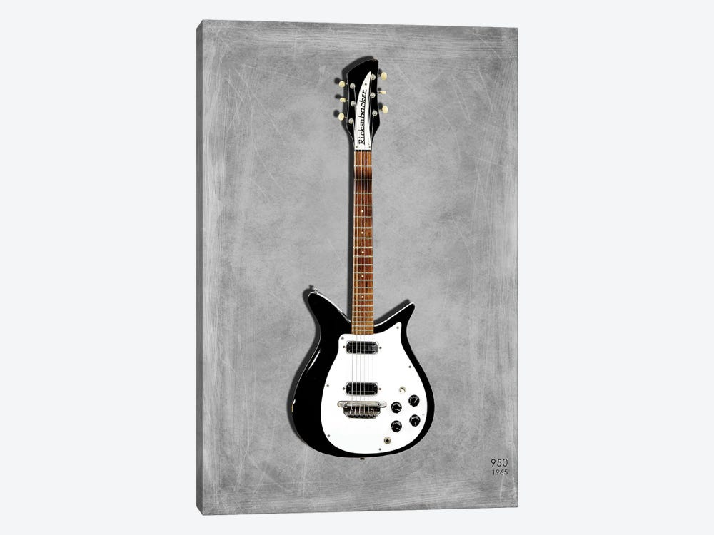Rickenbacker 950, 1965 by Mark Rogan 1-piece Canvas Artwork