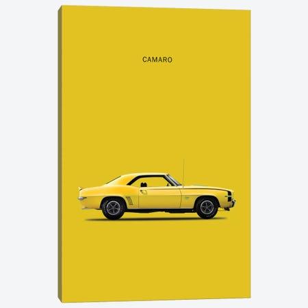 1969 Chevrolet Camaro Canvas Print #RGN46} by Mark Rogan Art Print