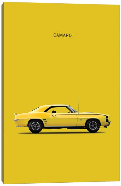 1969 Chevrolet Camaro Canvas Art Print