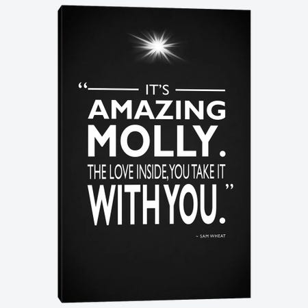 Ghost - Its Amazing Molly Canvas Print #RGN480} by Mark Rogan Canvas Art