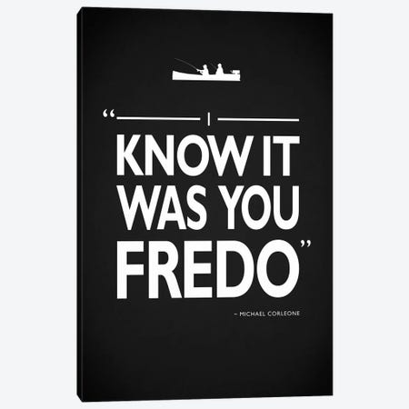 Godfather - It Was You Fredo Canvas Print #RGN482} by Mark Rogan Canvas Wall Art