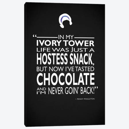 Hairspray - Tasted Chocolate Canvas Print #RGN488} by Mark Rogan Canvas Art