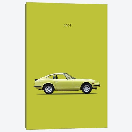 1969 Datsun 240Z Canvas Print #RGN48} by Mark Rogan Canvas Art