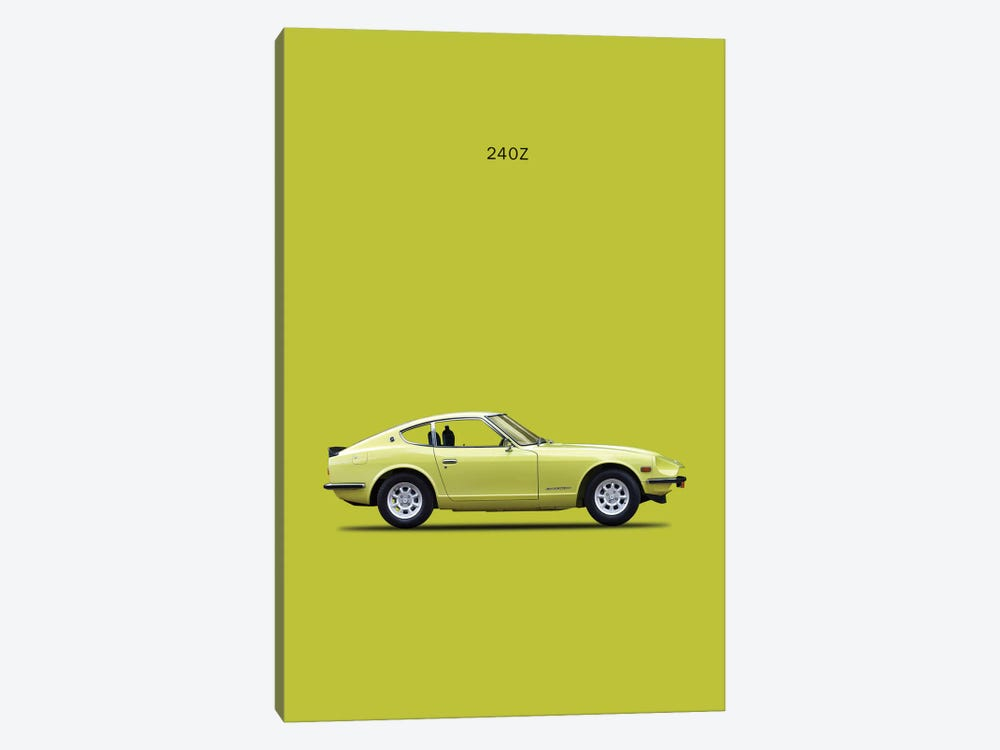 1969 Datsun 240Z by Mark Rogan 1-piece Canvas Art