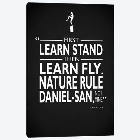 Karate Kid - Nature Rule Canvas Print #RGN493} by Mark Rogan Canvas Art Print