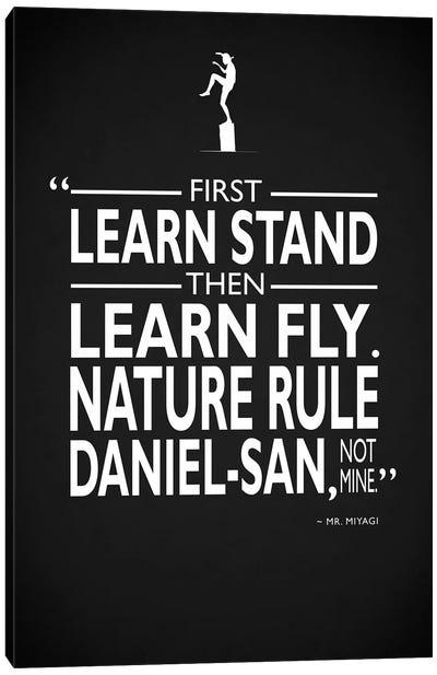 Karate Kid - Nature Rule Canvas Art Print