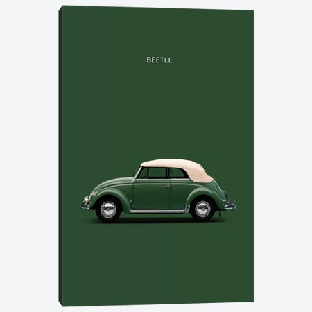 1953 Volkswagen Beetle Canvas Print #RGN4} by Mark Rogan Canvas Art Print