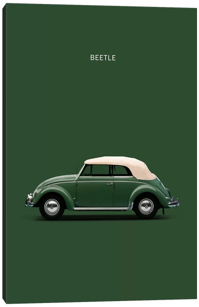 1953 Volkswagen Beetle Canvas Print #RGN4