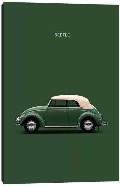 1953 Volkswagen Beetle Canvas Art Print