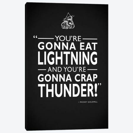 Rocky - Gonna Eat Lightning Canvas Print #RGN503} by Mark Rogan Canvas Art Print