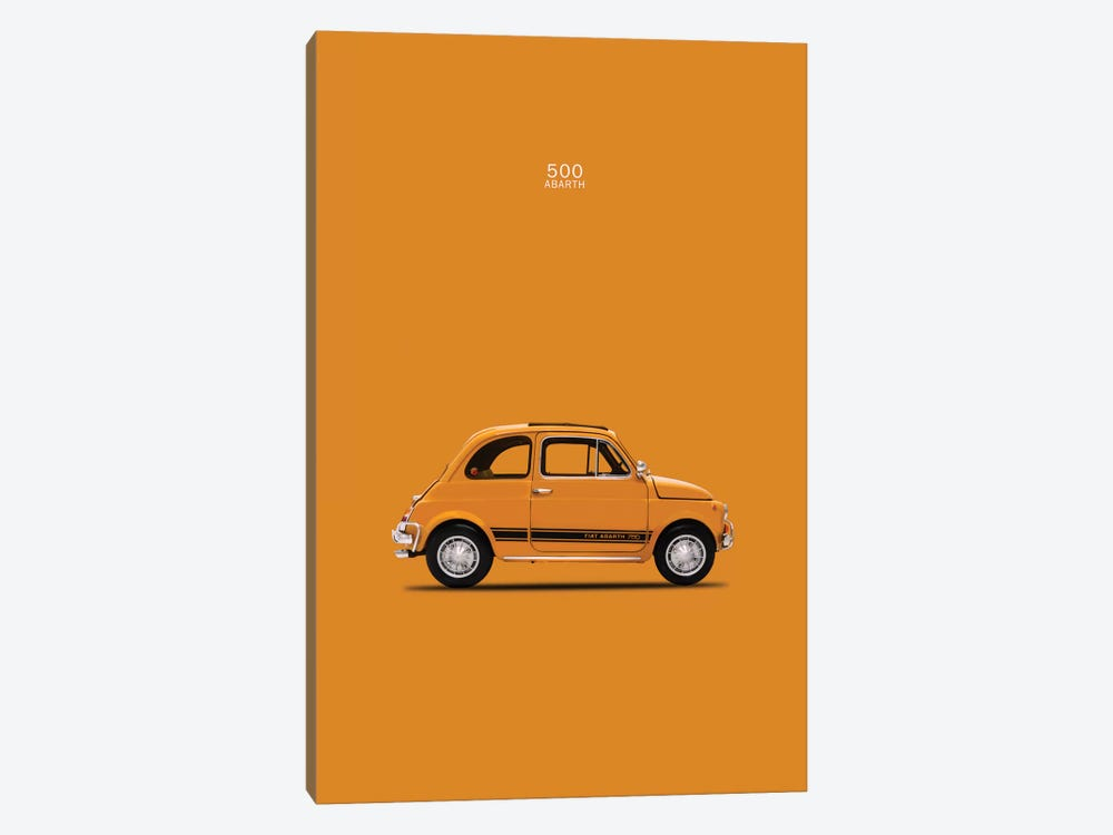 1969 Fiat 500 Abarth by Mark Rogan 1-piece Art Print