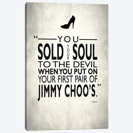 The Devil Wears Prada - Sold Your Soul To The Devil Canvas Print #RGN512} by Mark Rogan Canvas Wall Art