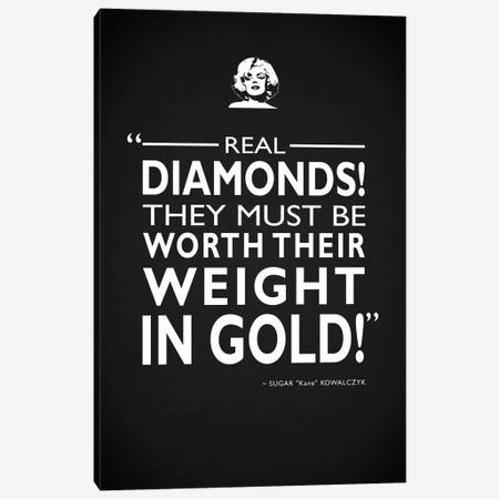 Some Like It Hot - Real Diamonds Canvas Print #RGN513} by Mark Rogan Canvas Artwork