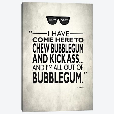 They Live - Chew Bubble Gum Canvas Print #RGN518} by Mark Rogan Canvas Wall Art