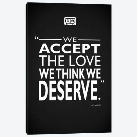Wallflower - Love We Deserve Canvas Print #RGN522} by Mark Rogan Canvas Print