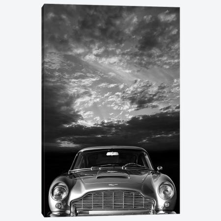 Aston Martin DB5 Front 3-Piece Canvas #RGN535} by Mark Rogan Art Print