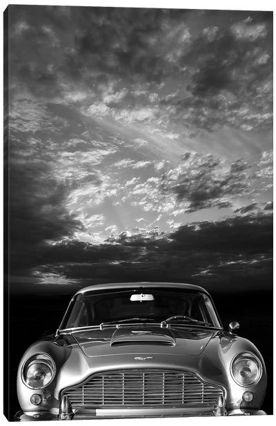 Aston Martin DB5 Front Canvas Art Print