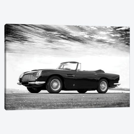 Aston-Martin DB5 1964 3-Piece Canvas #RGN536} by Mark Rogan Art Print