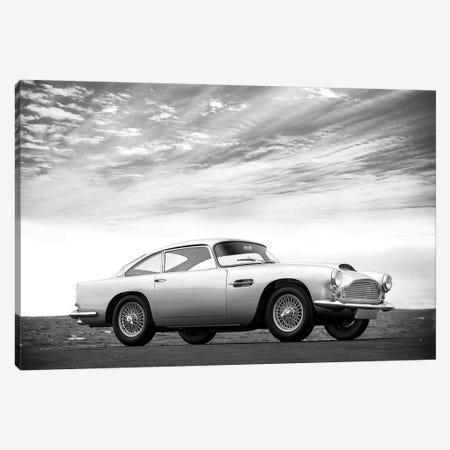 Aston-Martn DB4 1959 Canvas Print #RGN538} by Mark Rogan Canvas Art
