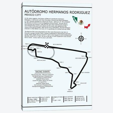 Autodromo Hermanos Rodriguez Canvas Print #RGN559} by Mark Rogan Canvas Wall Art