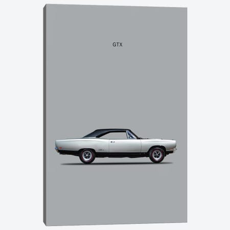 1969 Plymouth GTX Coupe Canvas Print #RGN55} by Mark Rogan Canvas Wall Art