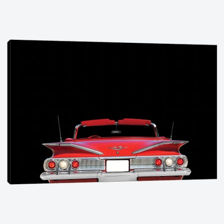 Chevrolet Impala 1960 Canvas Print #RGN572} by Mark Rogan Canvas Wall Art