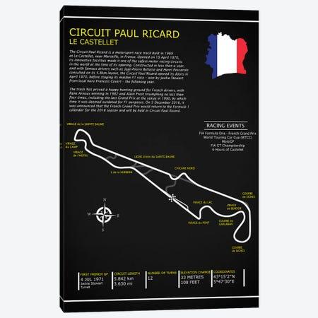 Circuit Paul Ricard BL Canvas Print #RGN576} by Mark Rogan Art Print