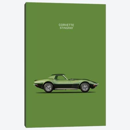 1970 Chevrolet Corvette Stingray Canvas Print #RGN57} by Mark Rogan Canvas Wall Art