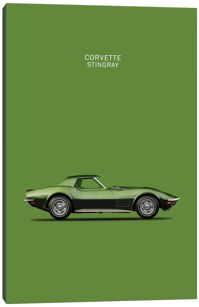 1970 Chevrolet Corvette Stingray Canvas Art Print