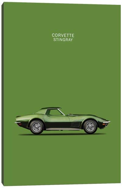 1970 Chevrolet Corvette Stingray Canvas Art Print
