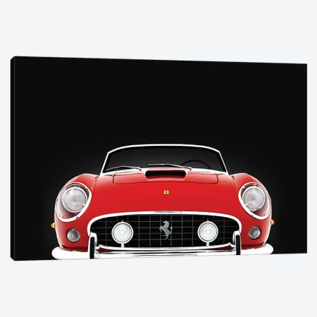 Ferrari 250 GT Canvas Print #RGN581} by Mark Rogan Art Print