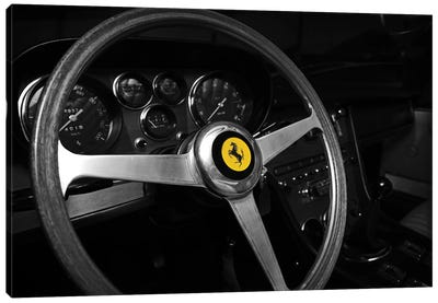 Ferrari 365GT 1968 Canvas Art Print