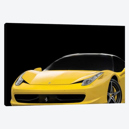 Ferrari 458 Italia Canvas Print #RGN583} by Mark Rogan Canvas Print