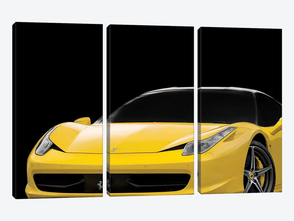 Ferrari 458 Italia by Mark Rogan 3-piece Canvas Artwork