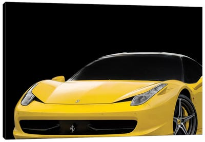 Ferrari 458 Italia Canvas Art Print