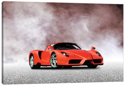 Ferrari Enzo Canvas Art Print
