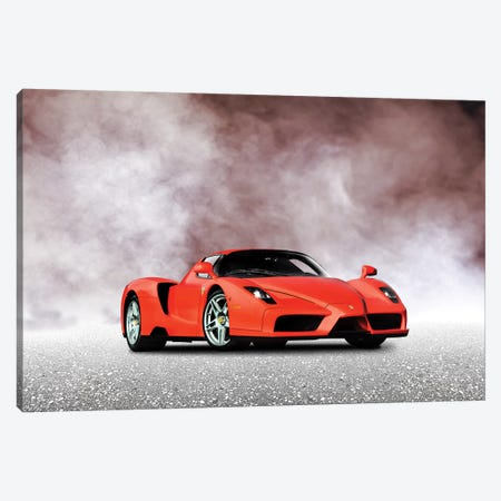 Ferrari Enzo Canvas Print #RGN584} by Mark Rogan Canvas Wall Art
