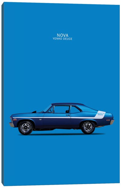 1970 Chevrolet Nova 350 Yenko Deuce  Canvas Art Print
