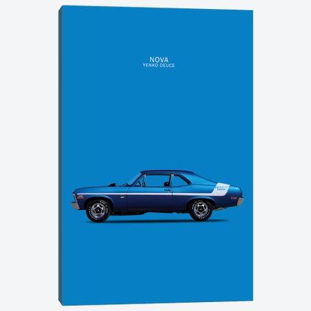 1970 Chevrolet Nova 350 Yenko Deuce  Canvas Print #RGN58} by Mark Rogan Canvas Art Print