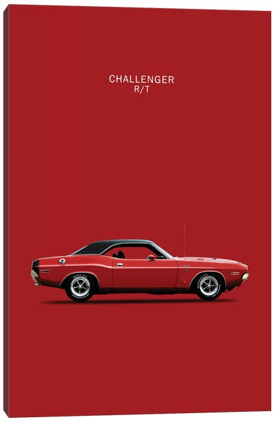 1970 Dodge Challenger R/T Canvas Art Print