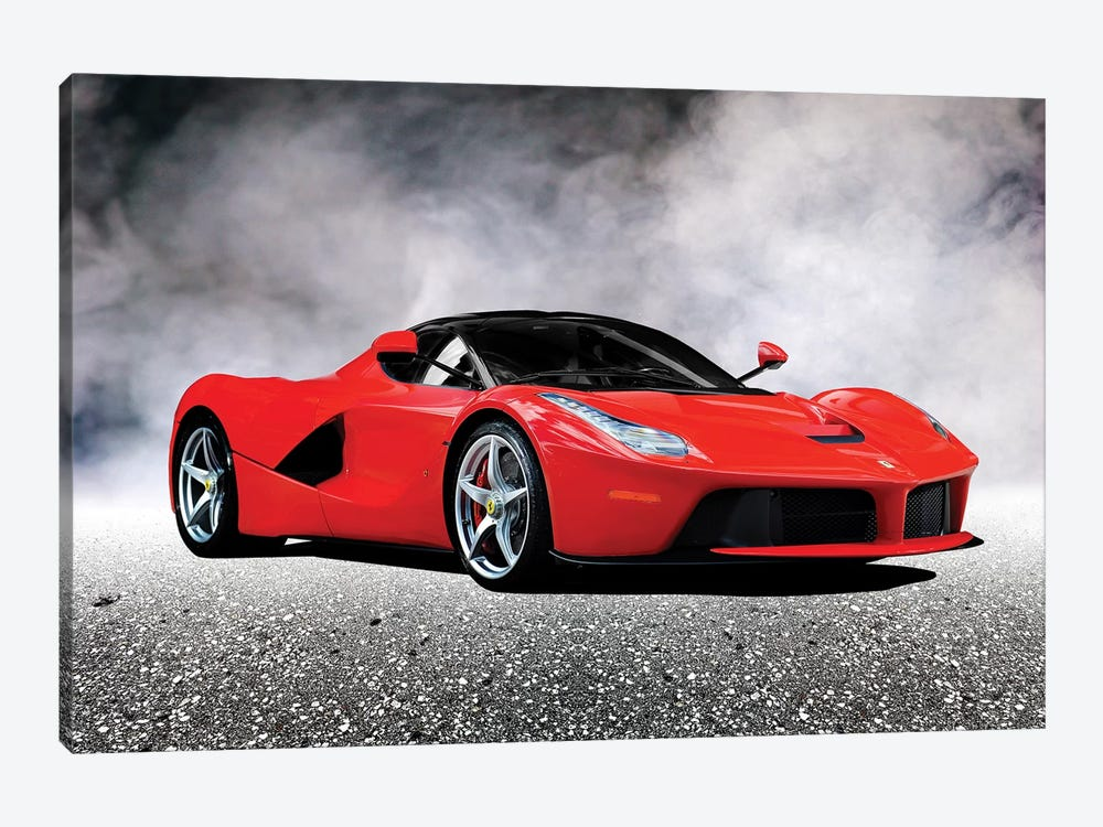 LaFerrari by Mark Rogan 1-piece Canvas Art Print