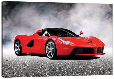 LaFerrari Canvas Art Print