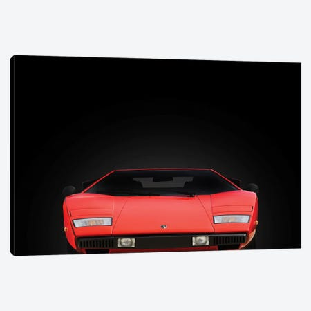 Lamborghini Countach Canvas Print #RGN603} by Mark Rogan Canvas Wall Art
