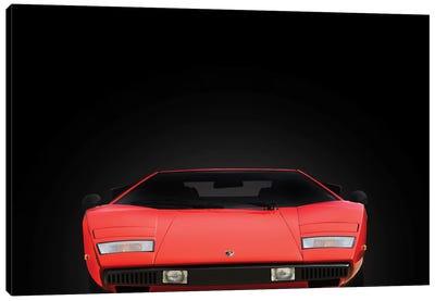 Lamborghini Countach Canvas Art Print