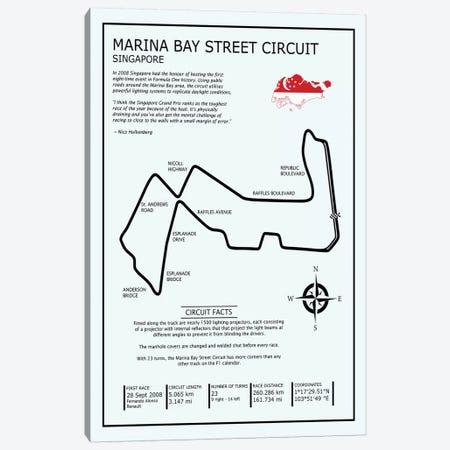 Marina Bay Circuit Canvas Print #RGN604} by Mark Rogan Canvas Art Print