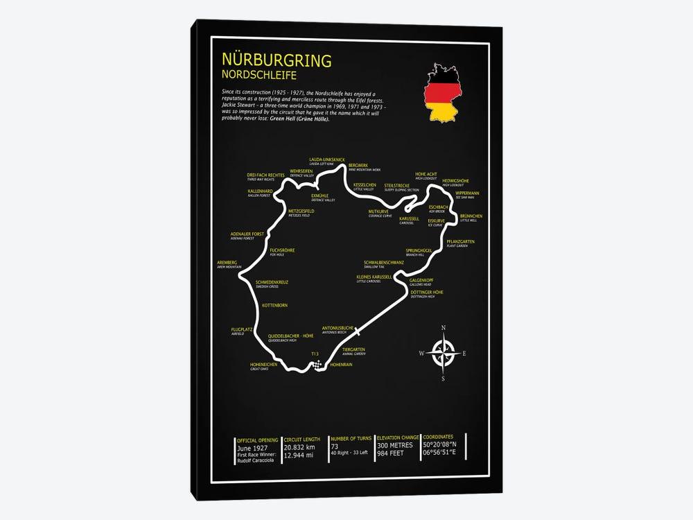 Nurburgring Nordschleife Bl Canvas Art Print By Mark Rogan Icanvas