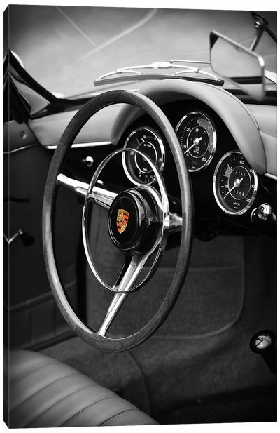 Porsche 356 Roadster Canvas Art Print