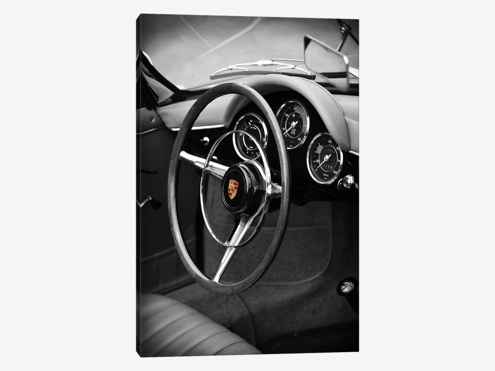 Porsche 356 Roadster by Mark Rogan 1-piece Canvas Artwork