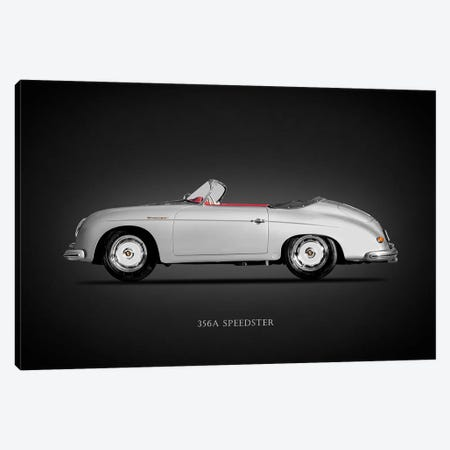 Porsche 356A Speedster 1957 Canvas Print #RGN616} by Mark Rogan Canvas Art