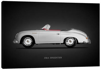 Porsche 356A Speedster 1957 Canvas Art Print